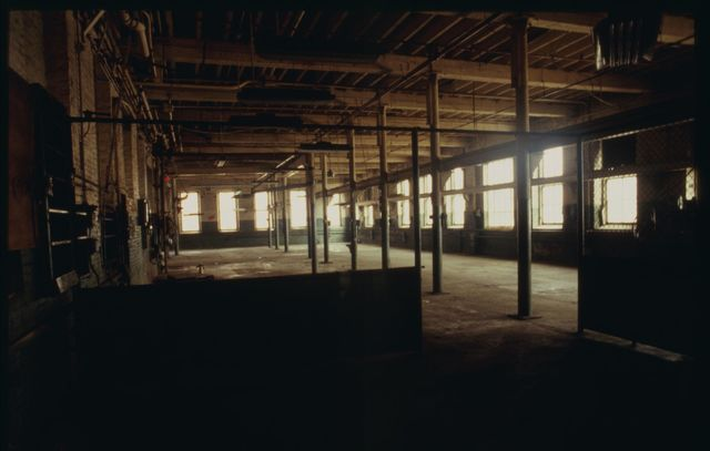 Former machine shop in old section of Watson (no longer in use).