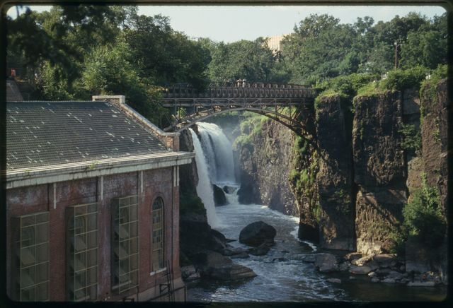 Great Falls on the Passaic.