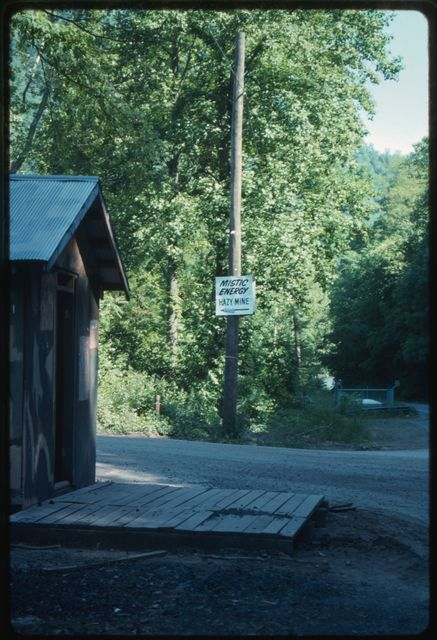 United Mine Workers' picket shack at the mouth of Hazy Creek, Edwight, West Virginia