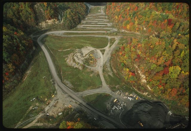 Aerial view of Eagle Mine site