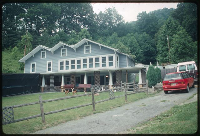 Exterior, home of Kenny and Martha Pettry