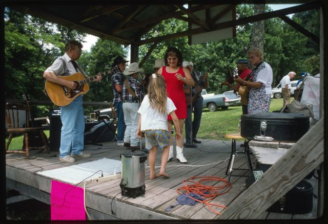 Fourth of July Celebration at Stanley Heirs Park on Kayford Mountain