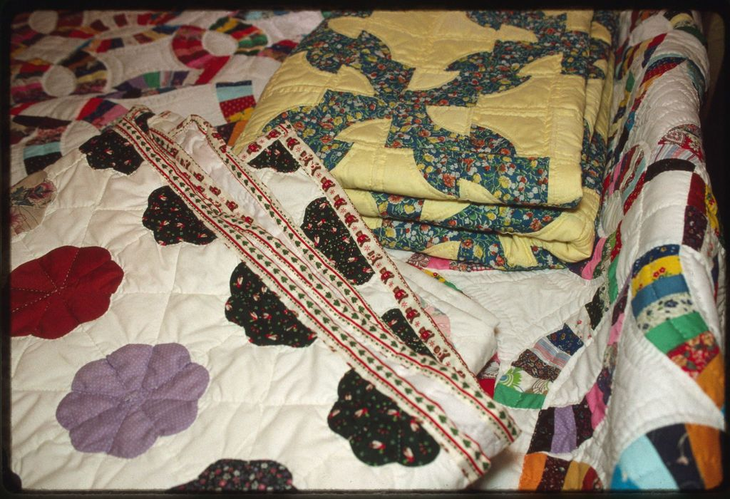 Quilts made by Elsie Rich