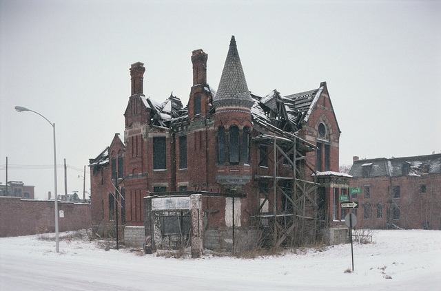 Ransom Gillis Mansion, Alfred at John R Streets, Detroit, 1997