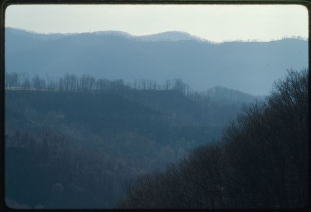 Reclamation on the Costain mountaintop removal site, White Oak