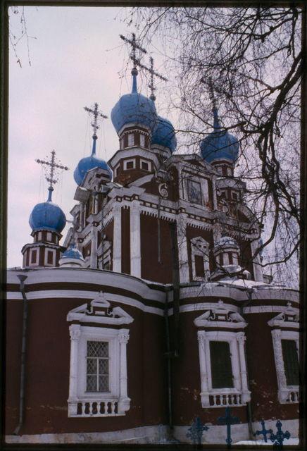Church of the Kazan Icon of the Virgin, (1694), southeast view, Ustiuzhna, Russia