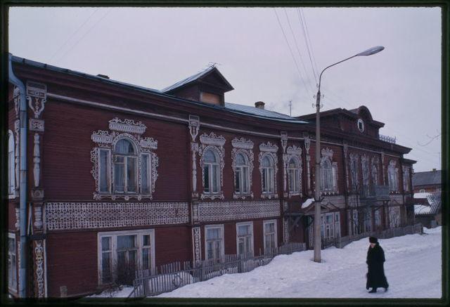 Kalinin house (early 20th century), Belozersk, Russia