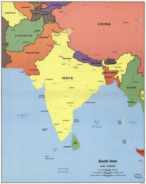 South Asia.