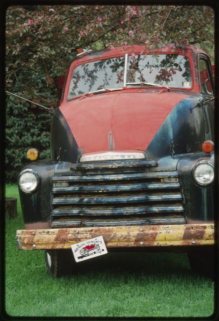 """""""Two ton snub nose 1948 Chevy,"""" refurbished by Woody Boggs"""