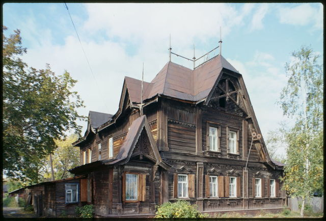 A. A. Lesnevskii house (early 20th century), Barnaul, Russia