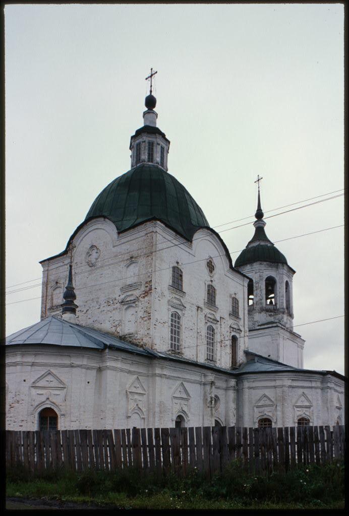 Church of Saints Peter and Paul (1768-70), northeast view, Tobol'sk, Russia