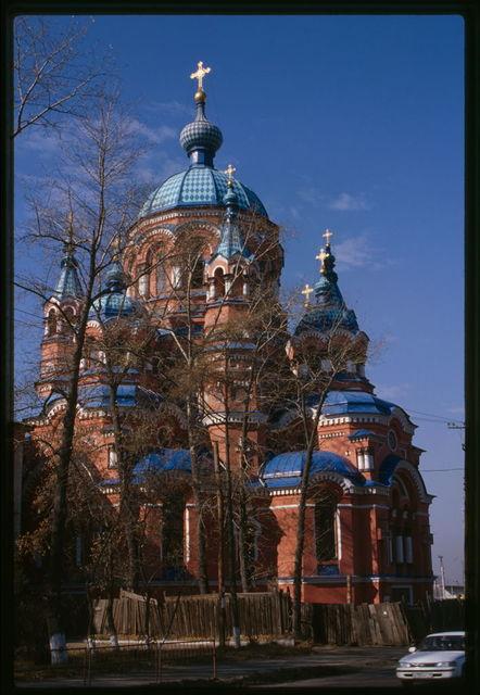 Church of the Kazan Icon of the Virgin (1885-92), northeast view, Irkutsk, Russia