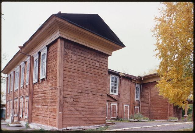 Library building on estate of G. V. Yudin (1881), Krasnoiarsk, Russia