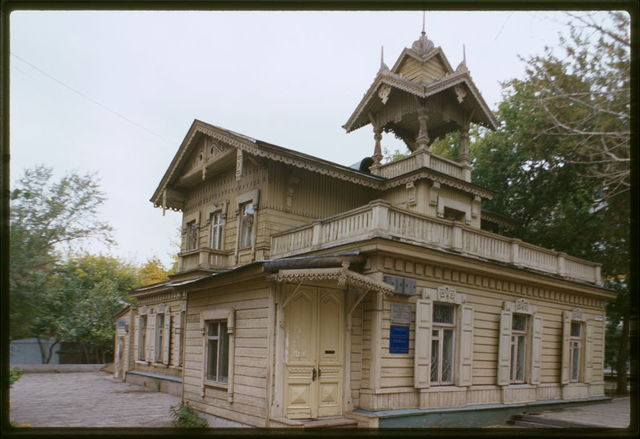 Log house (1915), Omsk, Russia