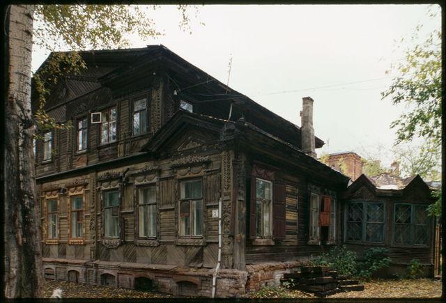 Log house, Nikitin Street #3 (early 20th century), Tomsk, Russia