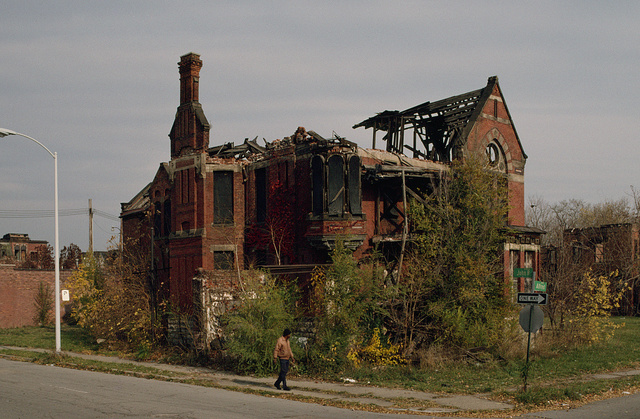 Ransom Gillis Mansion, Alfred at John R Streets, Detroit, 1999