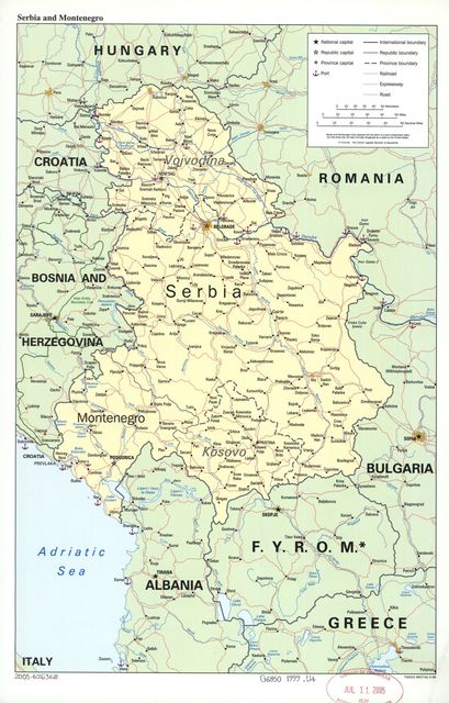 Serbia and Montenegro.