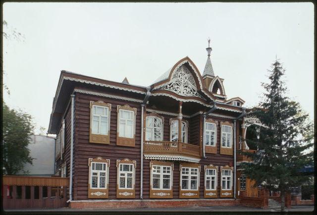 Shchadrin house ( late 19th century), Barnaul, Russia