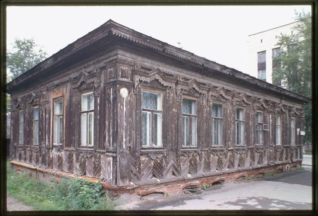Tartar District, Ordzhonikidze Street #26, house (late 19th century), Perm', Russia