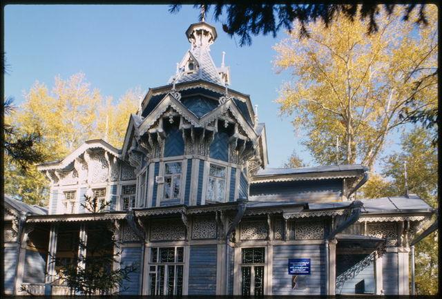 Wooden house, Krasnoarmeiskaia Street #71 (1902),Tomsk, Russia