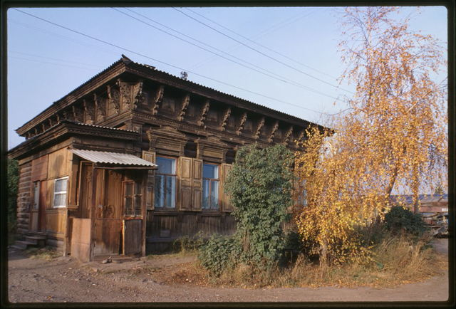 Wooden house, Sedov Street #68 (around 1900), Irkutsk, Russia