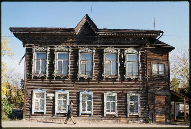 Wooden house, Shishkov Street #30 (around 1900), Tomsk, Russia