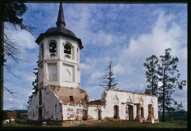 Church of the Purification (1788), southwest view, Bel'sk, Russia