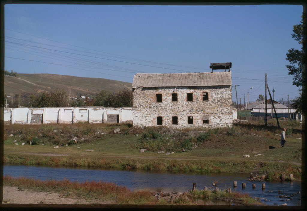 Flour mill (early 20th century), Shilka, Russia
