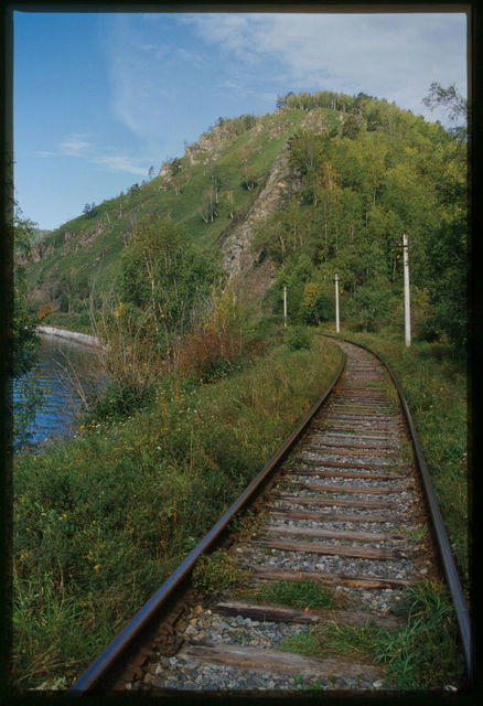 Lake Baikal Circumference Railway (early 20th century), Baikal, Russia