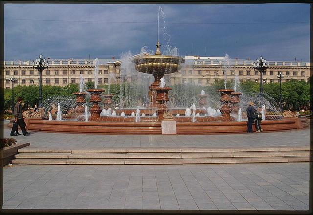 Lenin Square, Khabarovsk, Russia