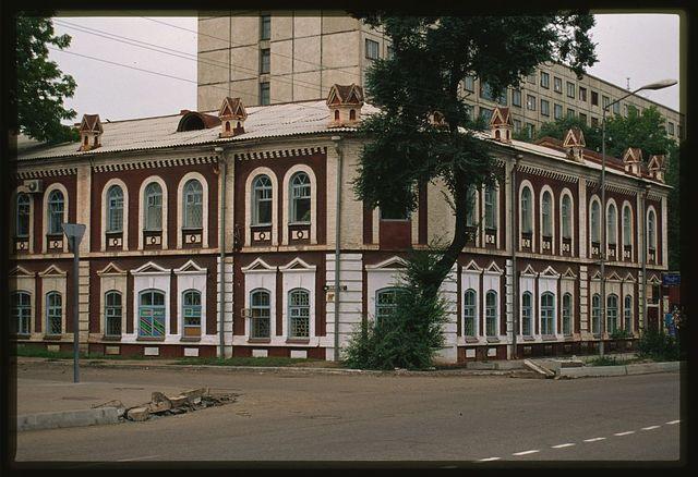 Post and Telegraph Office (Nekrasov Street 19), (1890s), Ussuriisk, Russia