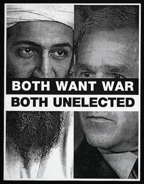 Both want war, both unelected