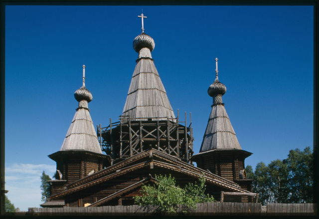 Cathedral of the Dormition (1711-1717), west facade, Kem', Russia