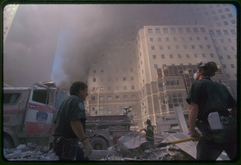 Collection of unattributed photographs of the September 11th terrorist attack on the World Trade Center, New York City