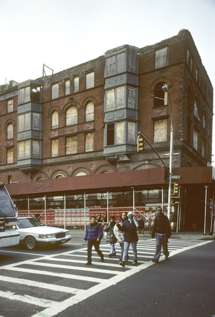 Former Corn Exchange Bank, NW corner of Park Ave. at E. 125th St., Harlem, 2001