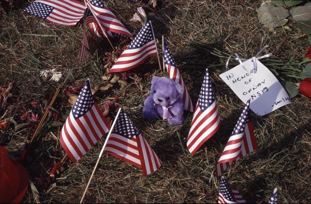 Memorial at the Pentagon - In Memory Of