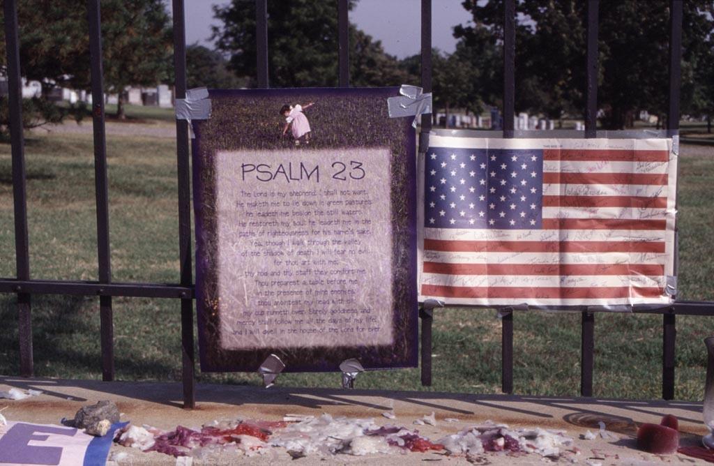 Memorial at the Pentagon - Psalm 23