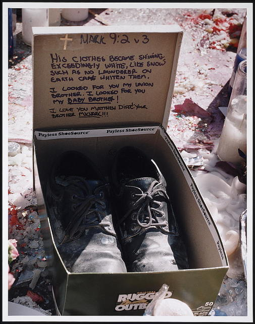 [Memorial to Matthew Diaz, a victim of the September 11th terrorist attack on the World Trade Center, New York, N.Y.]