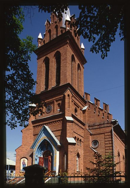 Cathedral of the Annunciation (former Catholic church), (1895), Blagoveshchensk, Russia