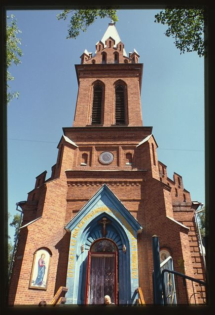 Cathedral of the Annunciation (former Catholic church), (1895), southwest view, Blagoveshchensk, Russia