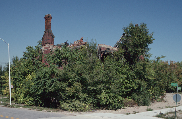 Ransom Gillis Mansion, Alfred at John R Streets, Detroit, 2002
