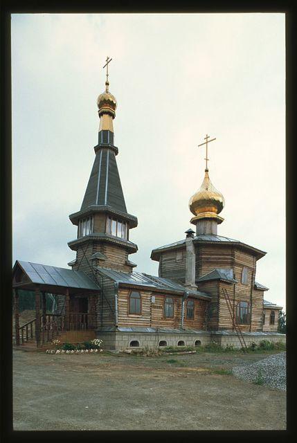Church of Saint George at Degtiarka (around 2000), Zlatoust, Russia