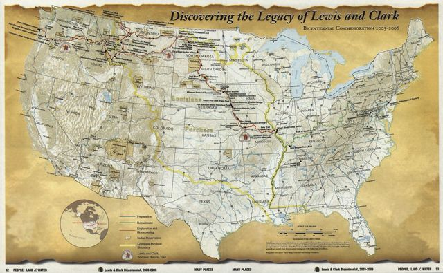 Discovering the legacy of Lewis and Clark : bicentennial commemoration 2003-2006 /
