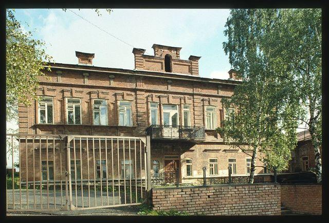 High School, Petrovskaia Street (1908), Zlatoust, Russia