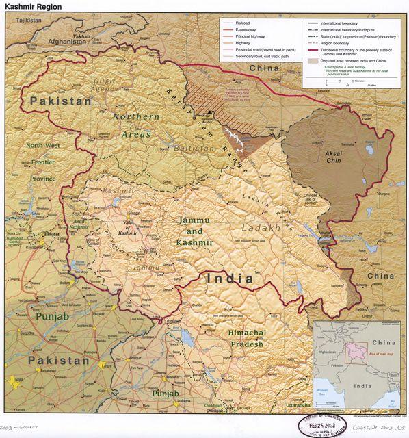 Kashmir region.