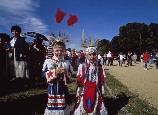Million Native American March, June 27, 2003, Washington, D.C.