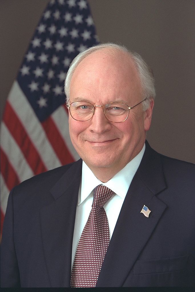 [Official portrait of Vice President Cheney taken in the Roosevelt Room] / David Bohrer.