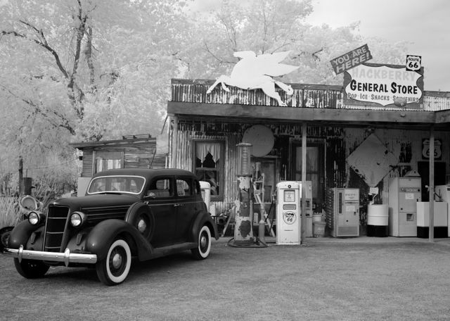 Hackberry General Store, Route 66, Hackberry, Arizona