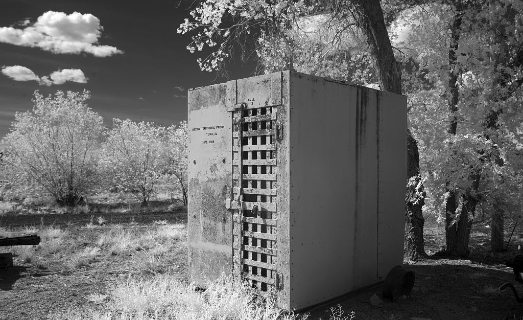 Old jail cell, Route 66, Arizona