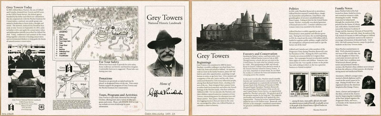 Grey Towers National Historic Landmark : home of Gifford Pinchot